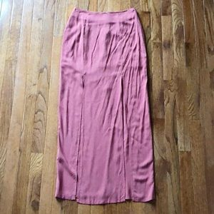 Forever 21 - Maxi Skirt - Rose Color